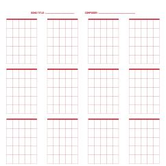 Blank Mandolin Fretboard Diagram 7 Blade Wiring 8 Best Images Of Printable Guitar Boxes