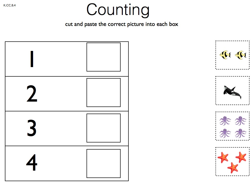 4 Best Images Of Preschool Cut And Paste Printables