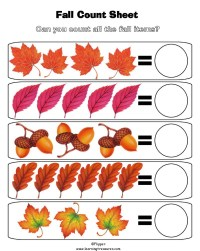 6 Best Images of Preschool Math Counting Worksheet