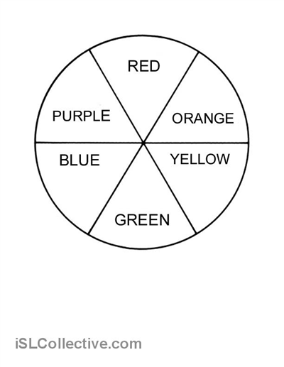 7 Best Images of Primary Color Wheel Template Printable