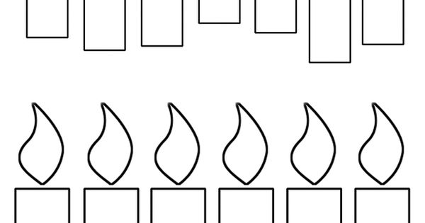 5 Best Images of Birthday Candles Free Printable Template