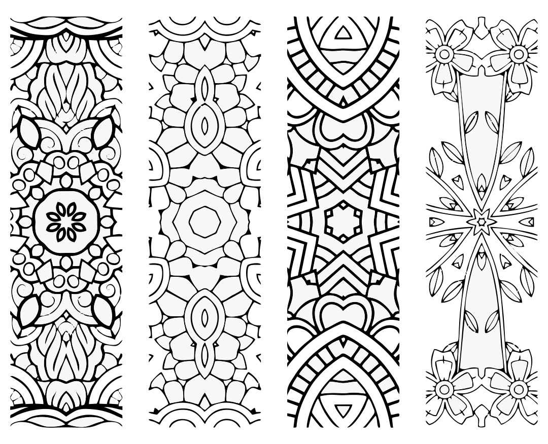 6 Best Free Printable Coloring Bookmarks For Kids