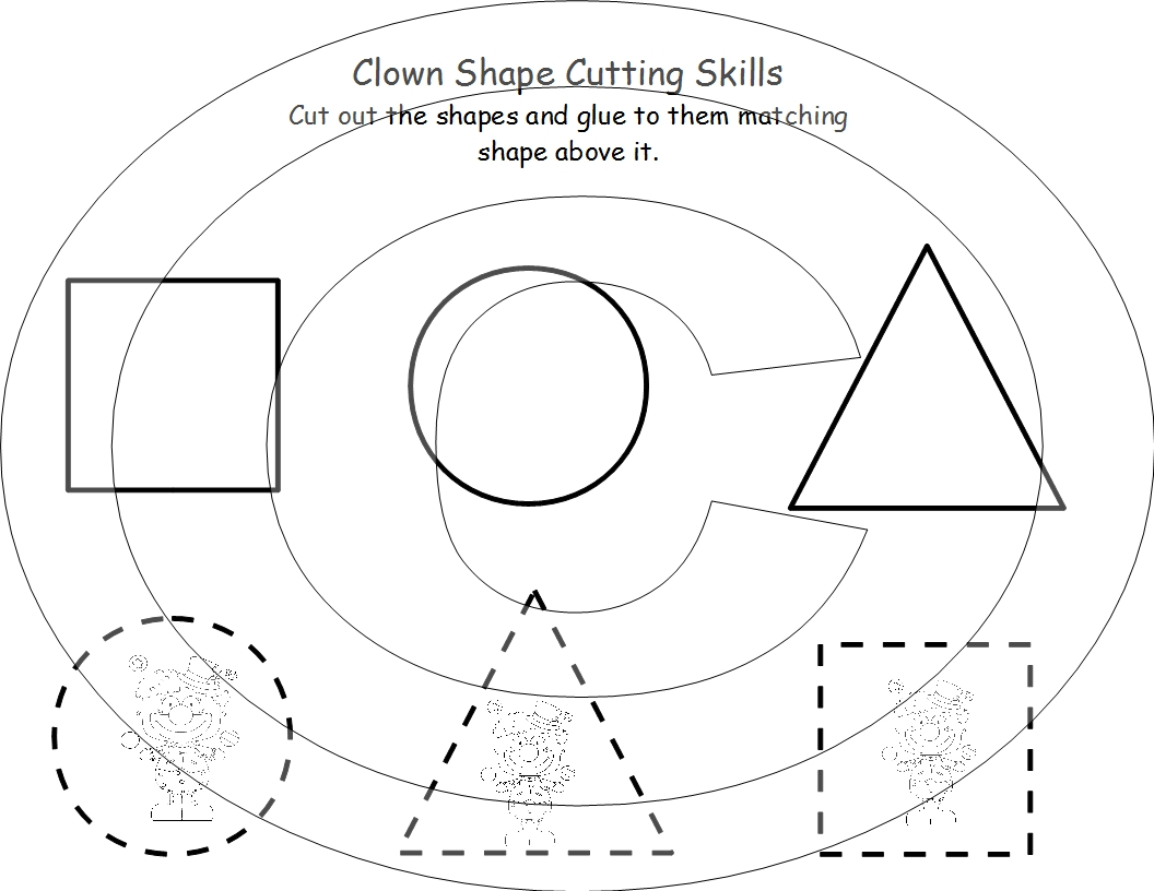 7 Best Images Of Cutting Shapes Printables