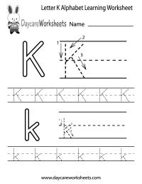Pre Kindergarten Worksheets Printables - free preschool ...