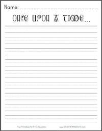 6 Best Images of Free Printable Writing Prompt Worksheets