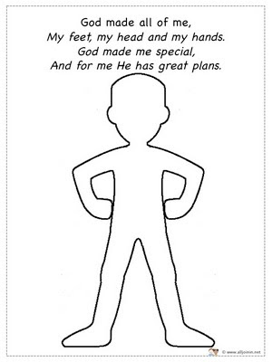 5 Best Images of God Made Me Special Coloring Pages