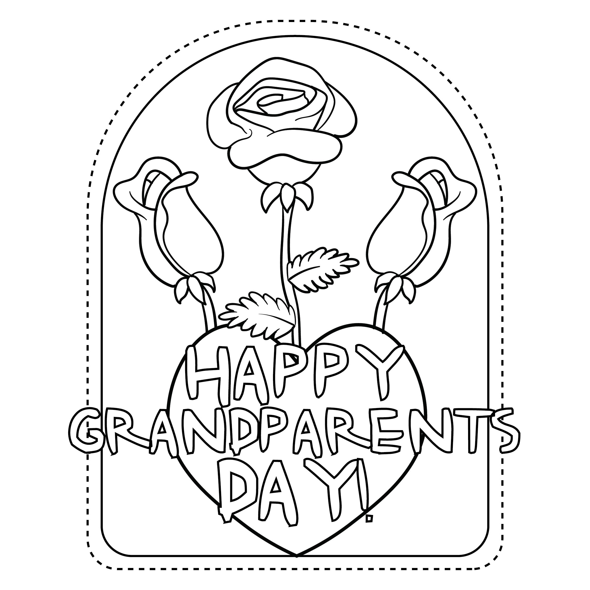 4 Best Images Of Grandparents Day Printables