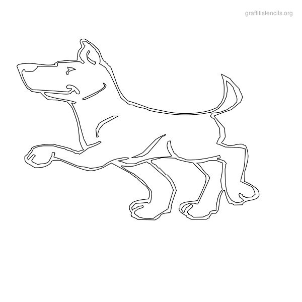 7 Best Images of Dog Templates Printable Cut Out Cake