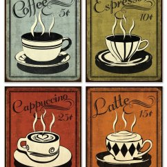 Vintage Posters For Kitchen Blenders 10 Best Images Of Printable Coffee
