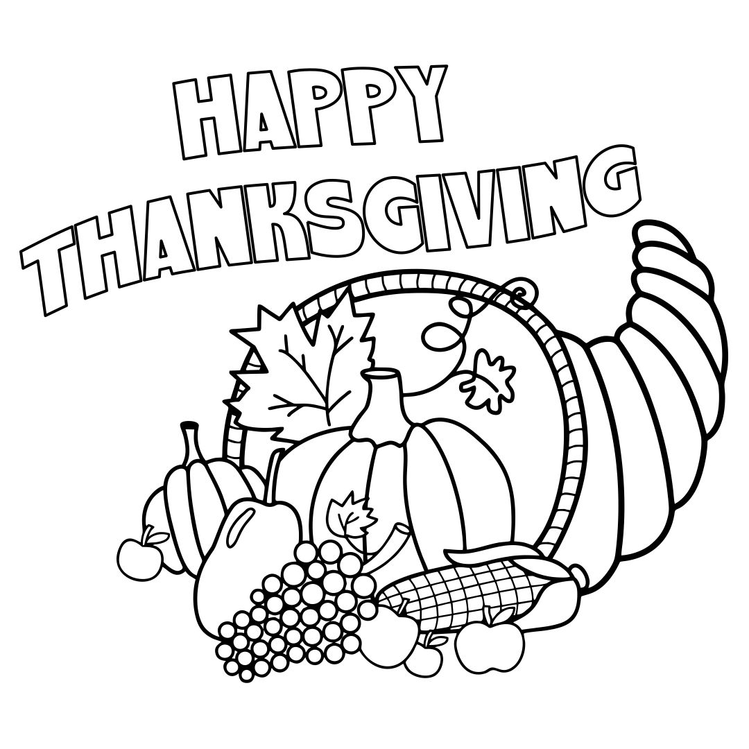 5 Best Images of Thanksgiving Turkey Coloring Pages