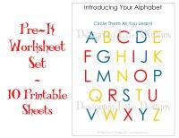 6 Best Images of Pre-K Homework Printables - Pre-K ...