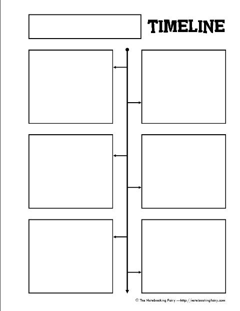 8 Best Images of Printable Blank Timelines For Students
