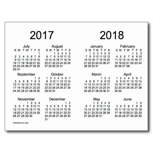 7 Best Images of Yearly Calendar Printable 2016 2017 2018