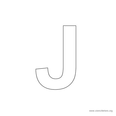 8 Best Images of Letter J Printable Template Large