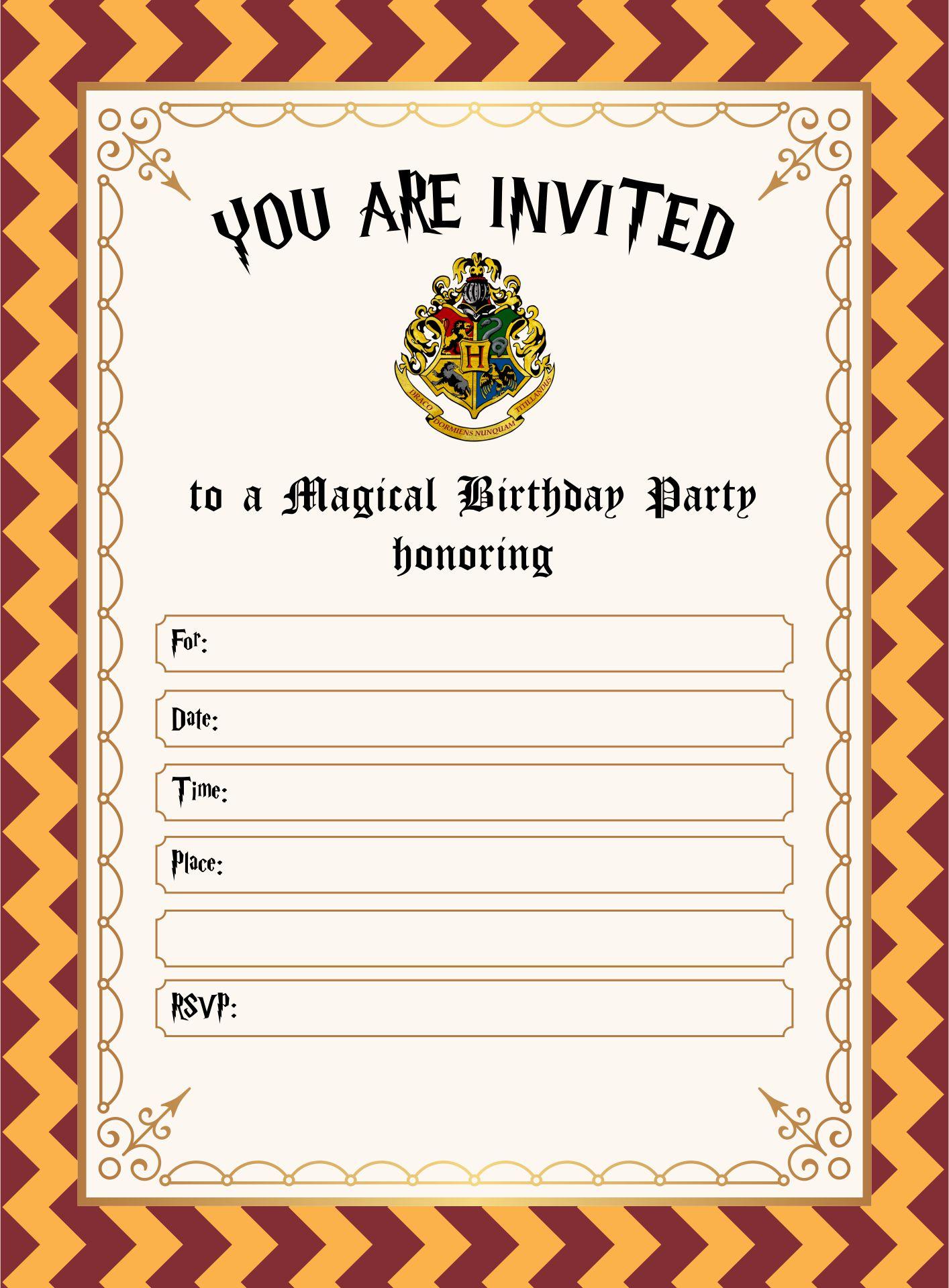 3 Potter Ticket Harry 4 Platform Template 9