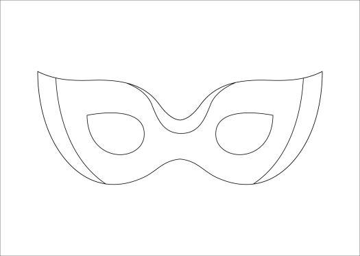 7 Best Images of Plain Masks Templates Printables ...