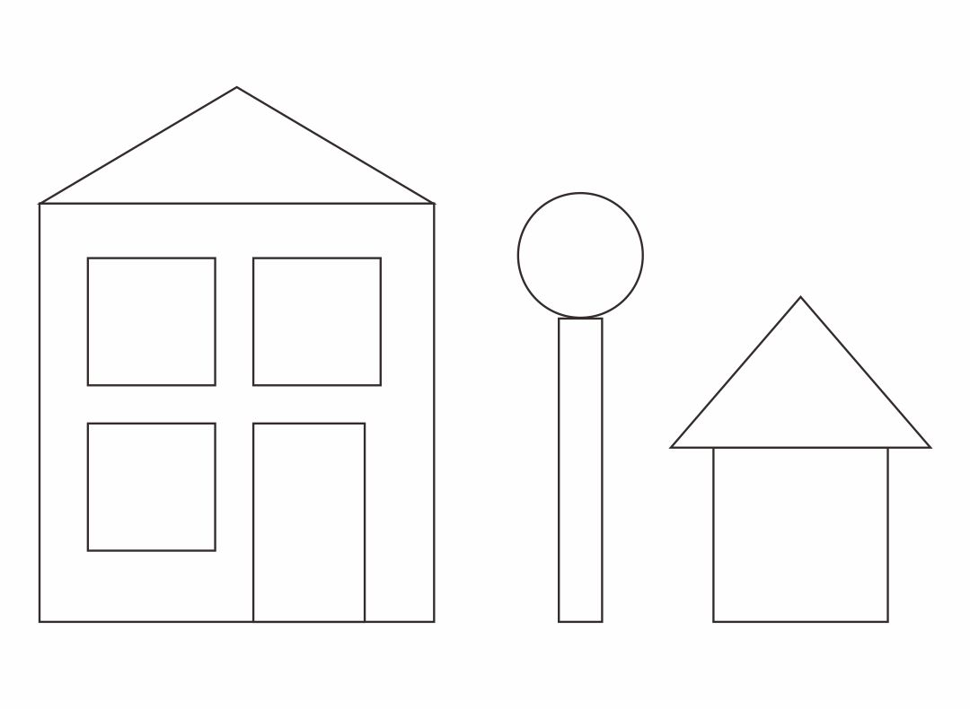 5 Best Shape Worksheets Printable Houses