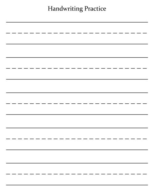 small resolution of 7 Best Blank Cursive Worksheets Printable - printablee.com