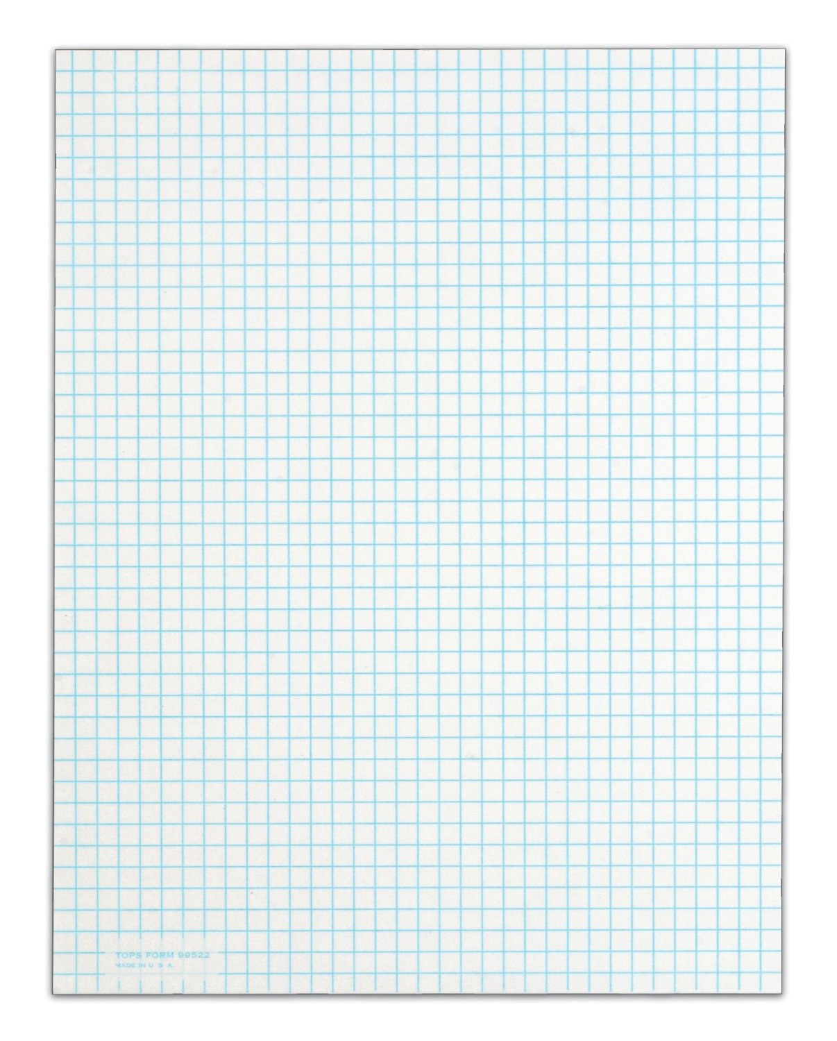 5 Best Images of Printable Grid Paper 85 X 11  1 8 Graph