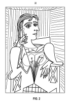 Picasso Famous Paintings Coloring Page Sketch Coloring Page