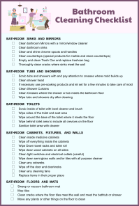 8 Best Images of Restroom Cleaning Schedule Printable ...
