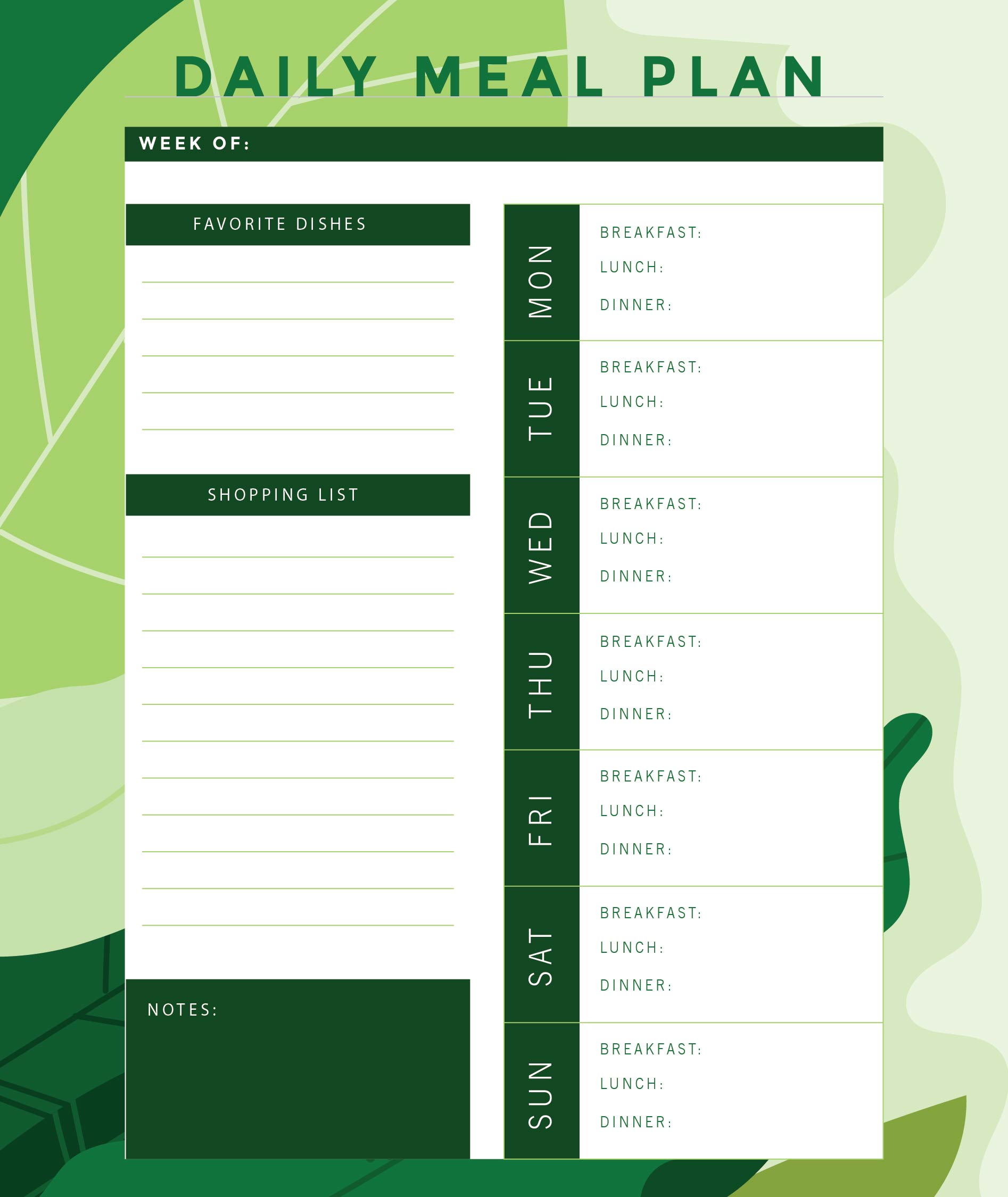 7 Best Images Of Weight Loss Journal Printable Template