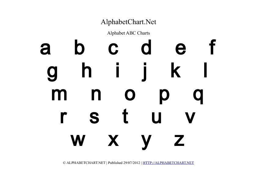 Letter Printable Images Gallery Category Page 17