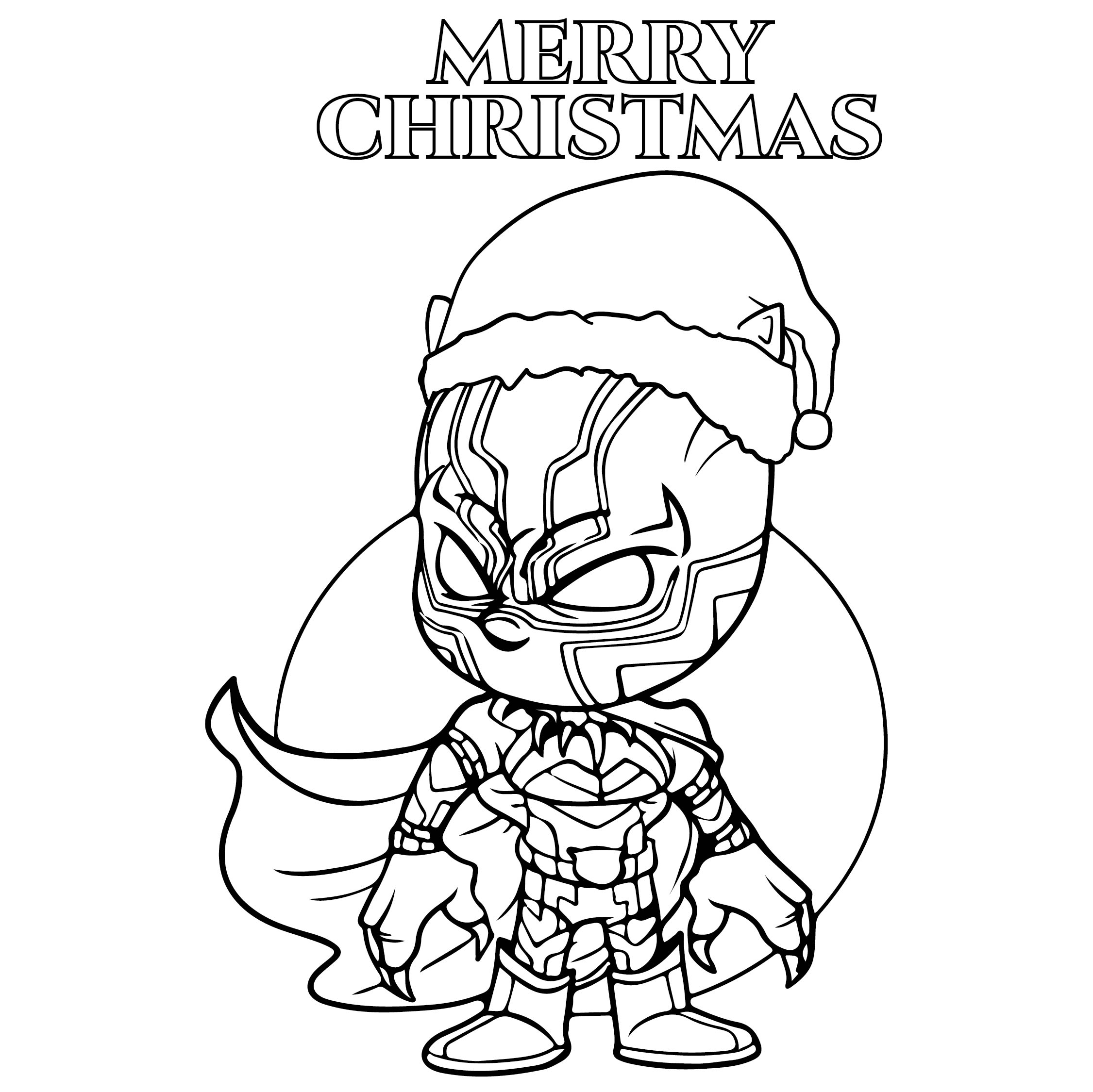 7 Best Images of Christmas Coloring Printable Invitations