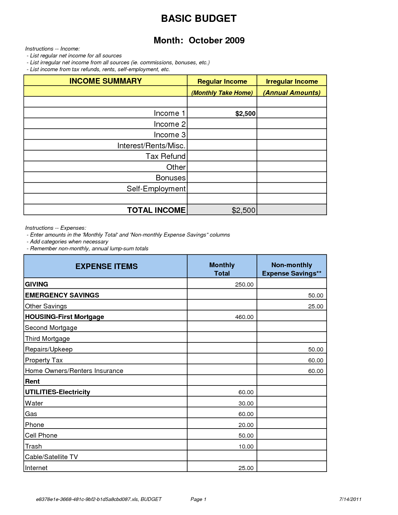 5 Best Images Of Dave Ramsey Printable Budget Form
