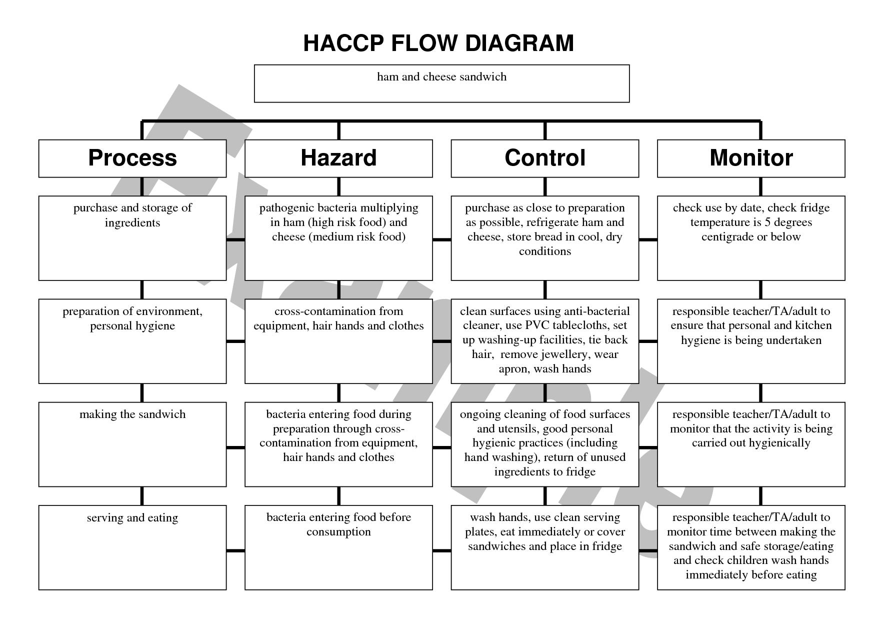 Greek Yogurt Production Process Flow Diagram
