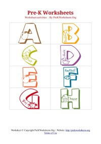 6 Best Images of Pre-K ABC Worksheets Printable - Free ...