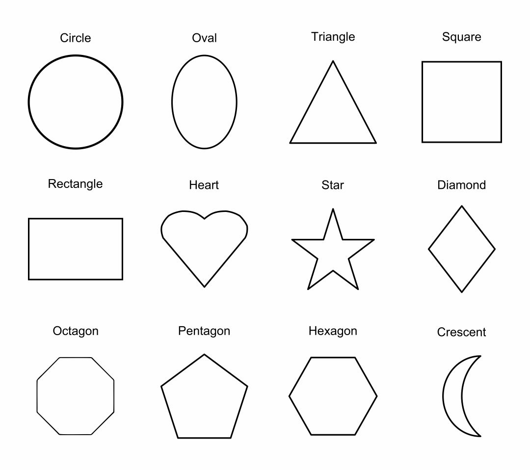 5 Best Printable Shapes Chart