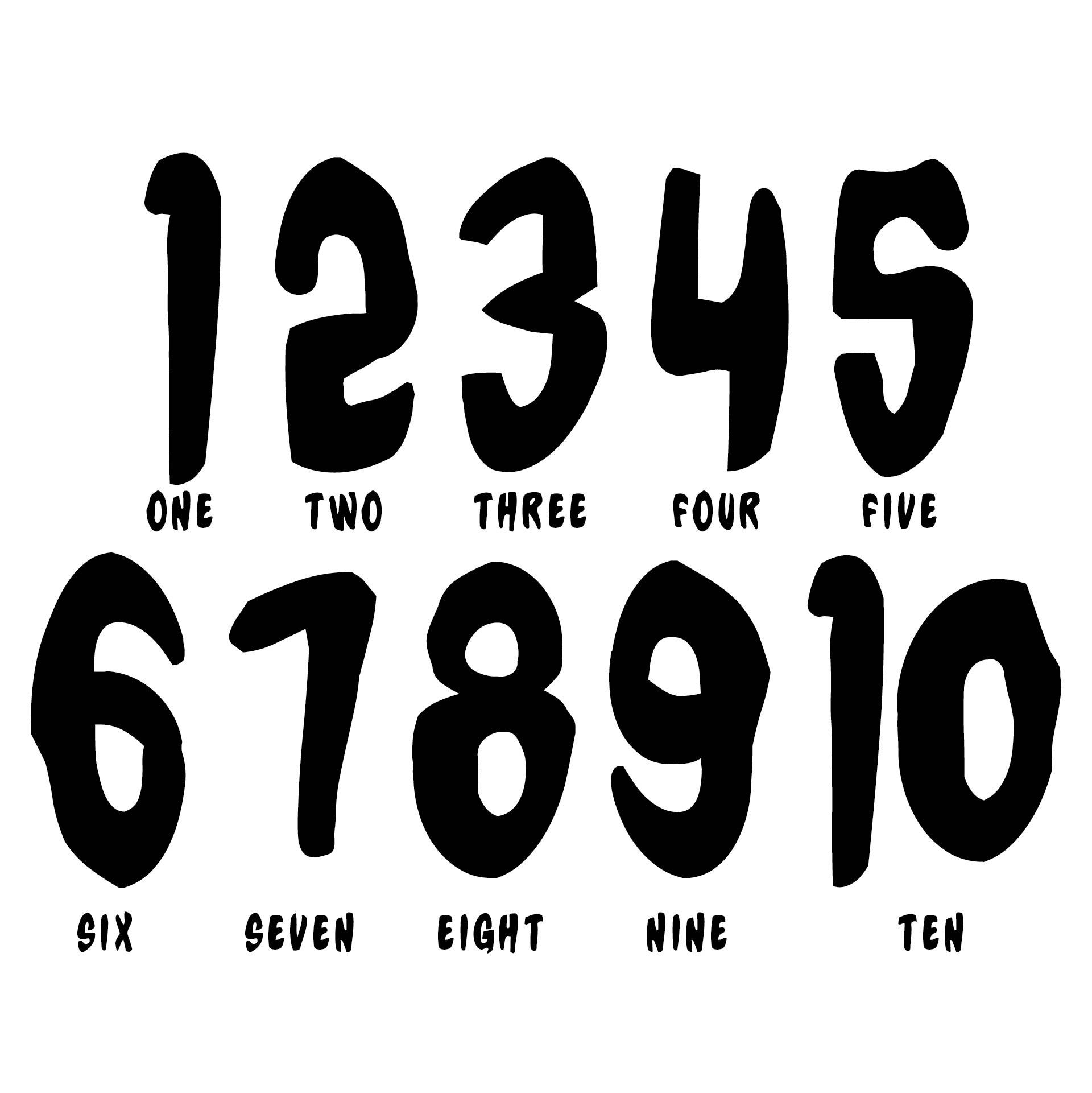 8 Best Printable Very Large Numbers 1 10 Printablee Com