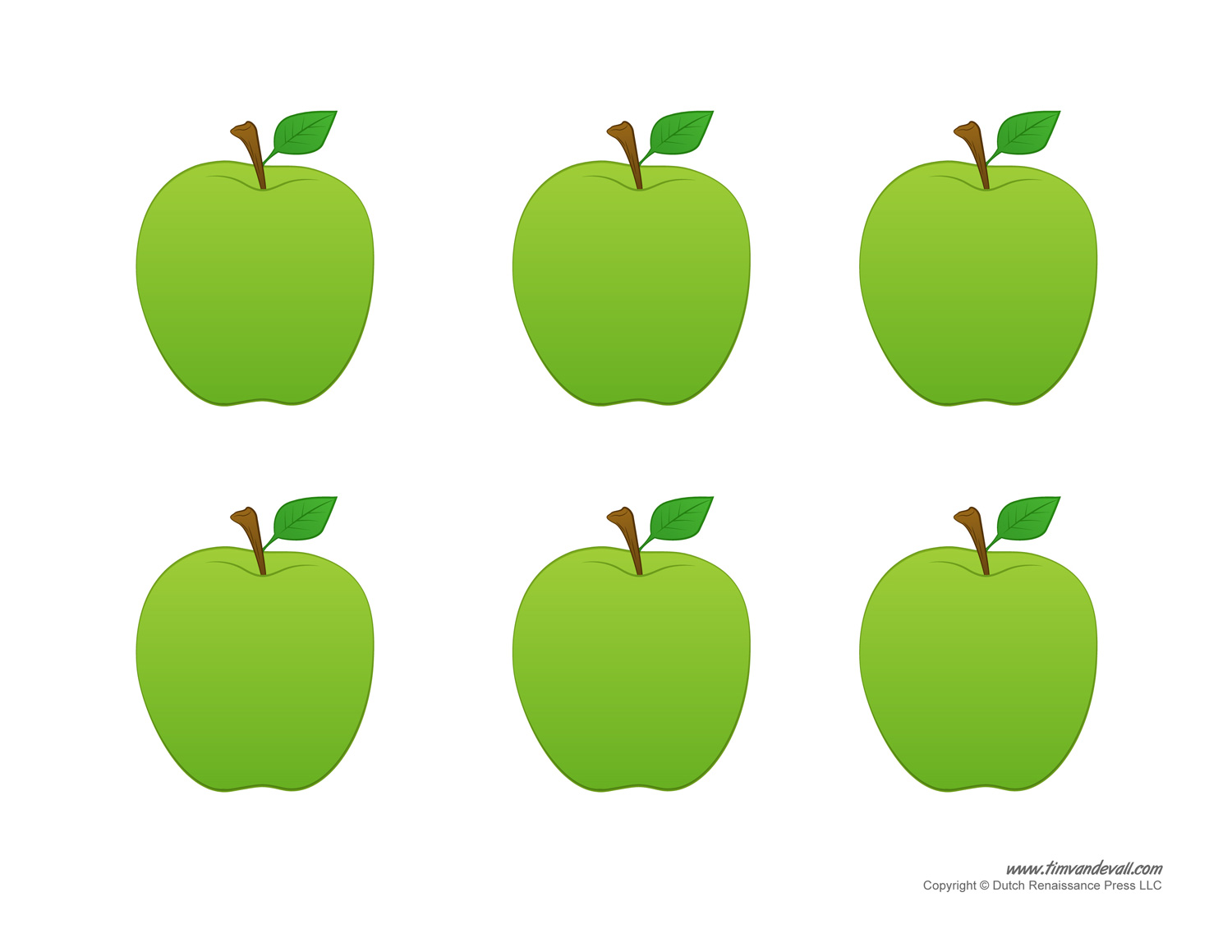 6 Best Images Of Red Apple Template Printable