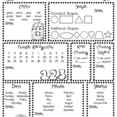 7 Best Images of Preschool Forms Free Printables