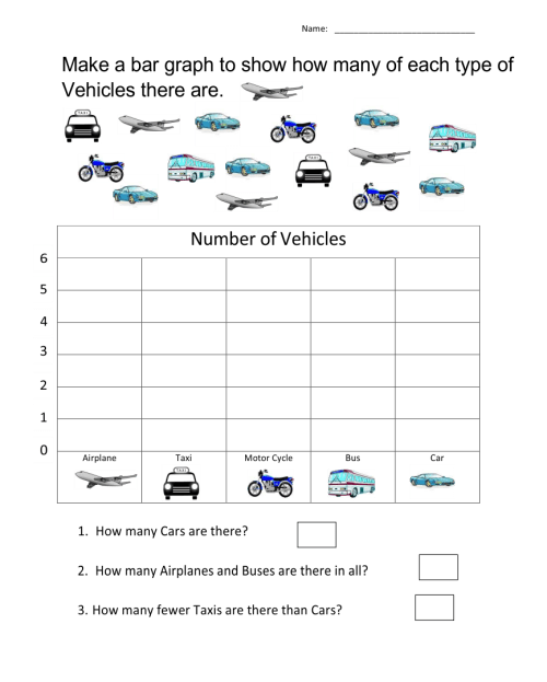 small resolution of 7 Best Free Printable Bar Graph Worksheets - printablee.com