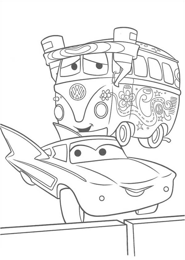 6 Best Images of Printable Coloring Pages Disney Cars