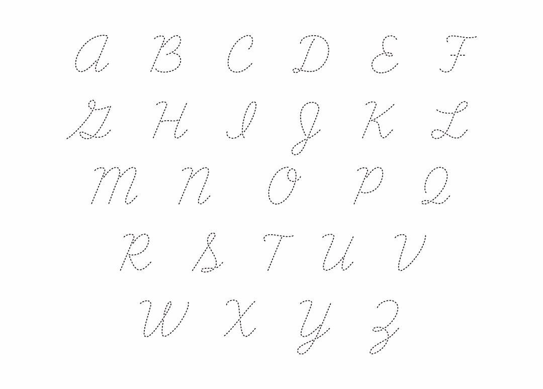 Cursive writing pdf