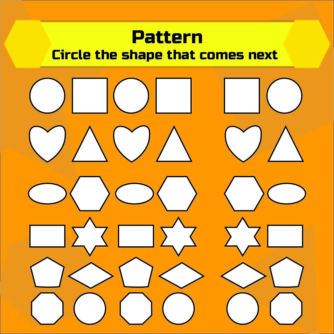 7 Best Free Printable Preschool Worksheets Color By