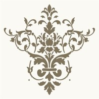 8 Best Images of Free Printable Wall Stencils Damask ...