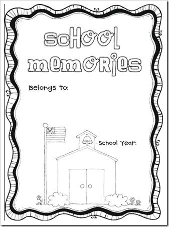 5 Best Images of Free Printable School Memory Book