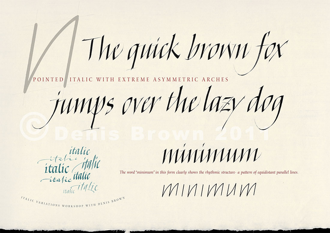 7 Best Images Of Printable Italic Calligraphy Practice