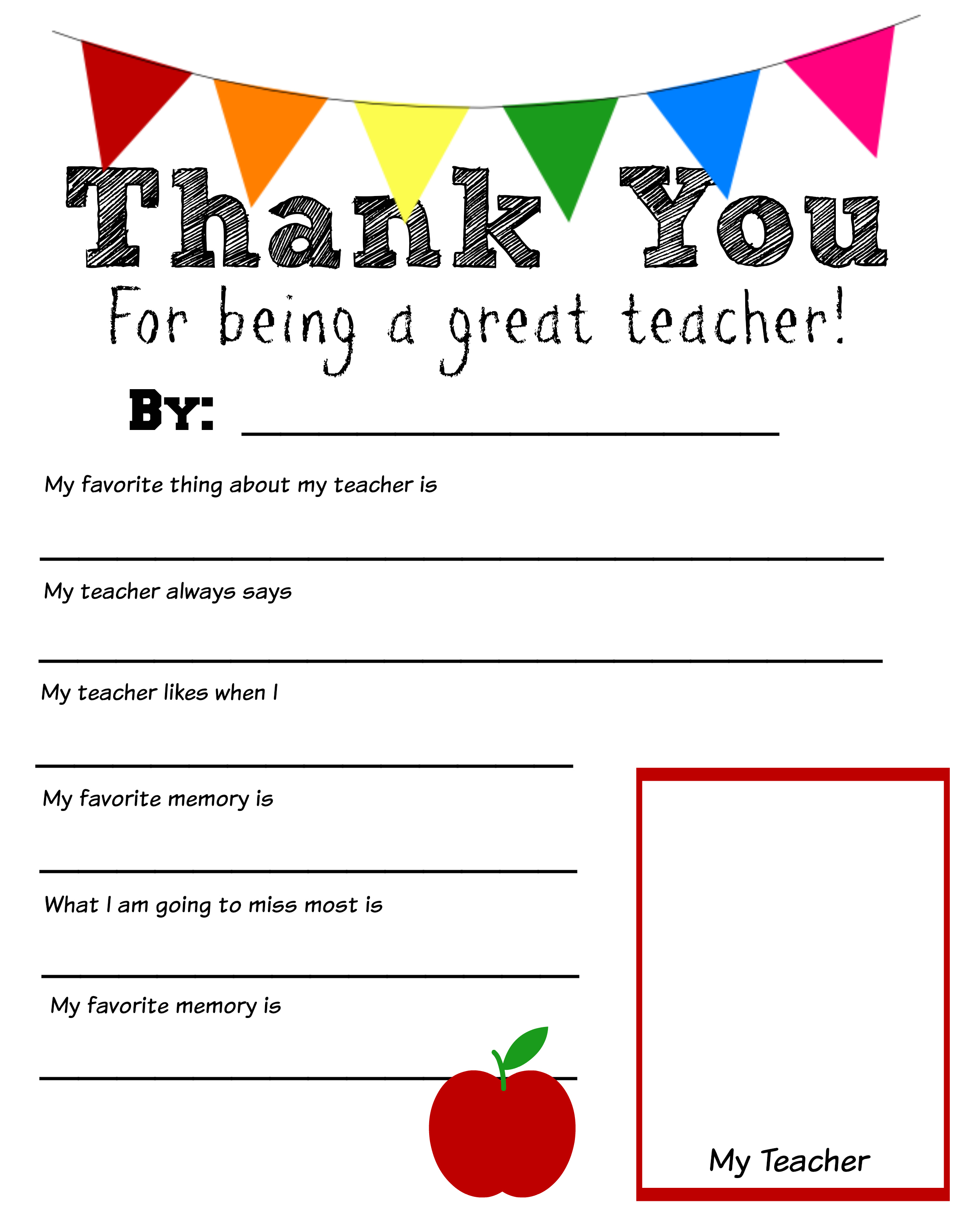 6 Best Images Of Printable Teacher Worksheets