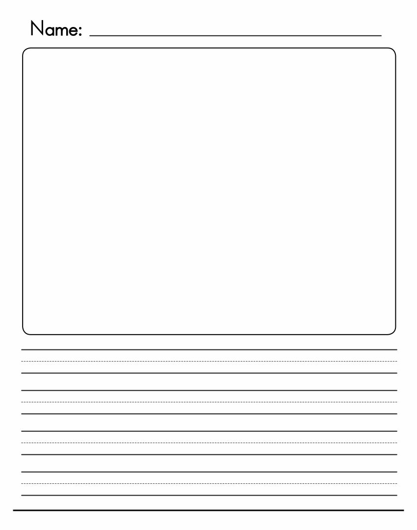 8 Best Images of First Grade Printable Paper Like