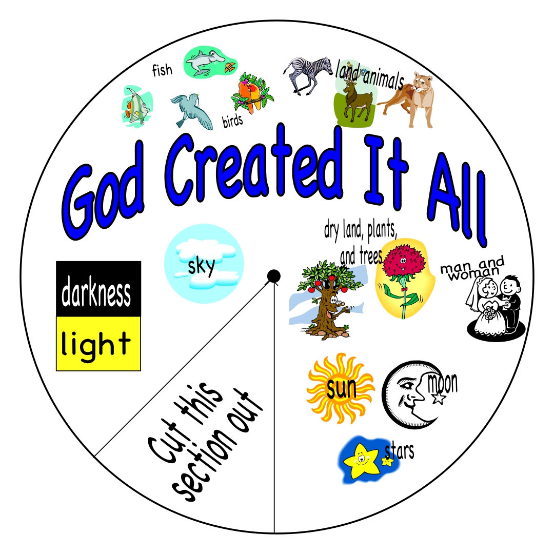 6 Best Images Of Story Of Creation Printable