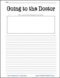 4 Best Images of Printable Doctor Worksheets - Pretend ...