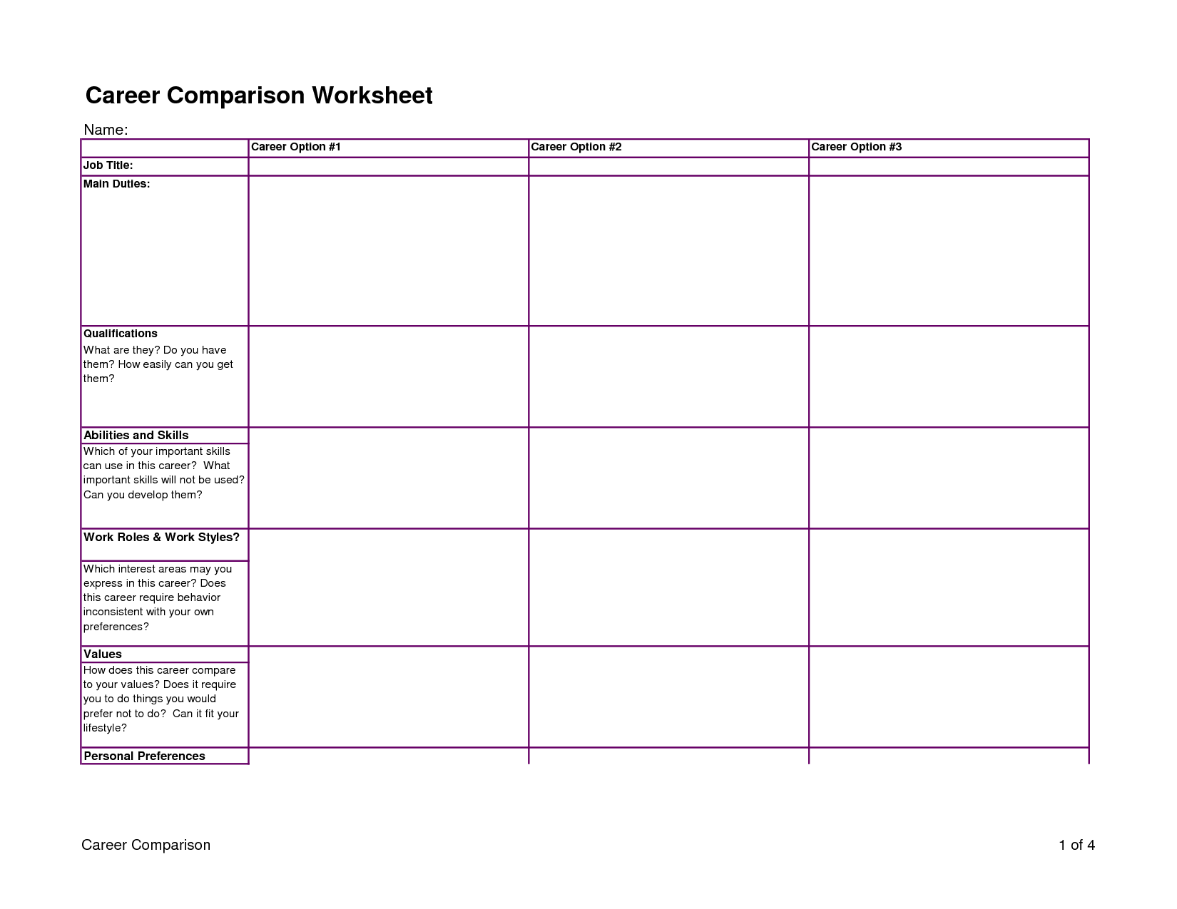 6 Best Images Of Weight Loss Printable Worksheets