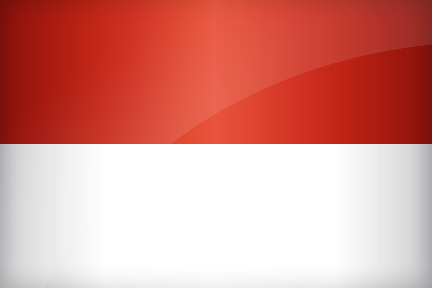 indonesia flag printable flags