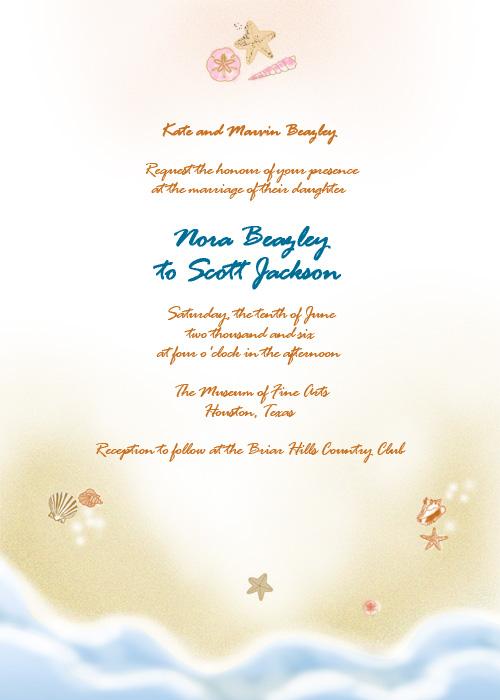 42 Beautiful Beach Wedding Invitations