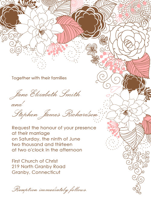Invitation card border templates paperinvite wedding invitation card border designs free yaseen for stopboris Gallery
